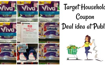 Target Household Coupon Deal Idea at Publix