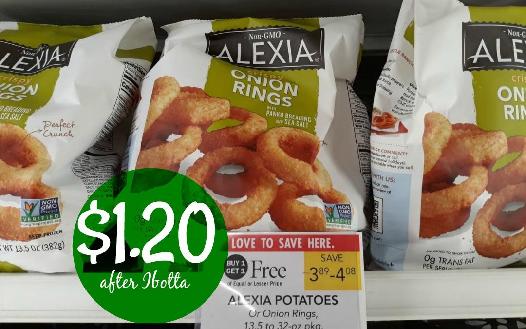 Alexia Potatoes $1.20 at Publix