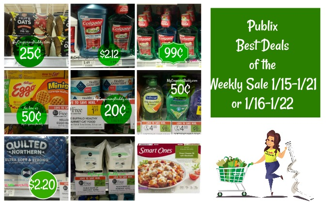 Best Deals of the Publix Weekly Sale 1/15-1/21 or 1/16-1/22