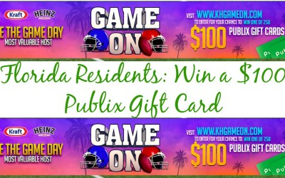 Florida Residents ONLY $100 Publix Sweepstake