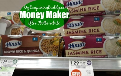 Money Maker Ready to Serve Minute Rice at Publix