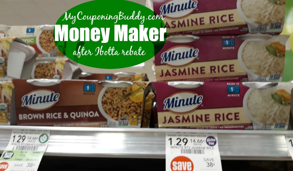 Money Maker Minute RIce Publix