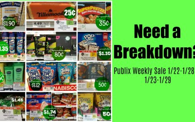 Breakdowns of the Best Deals of the Weekly Sale 1/22-1/28 or 1/23-1/29 Coupon Match Ups
