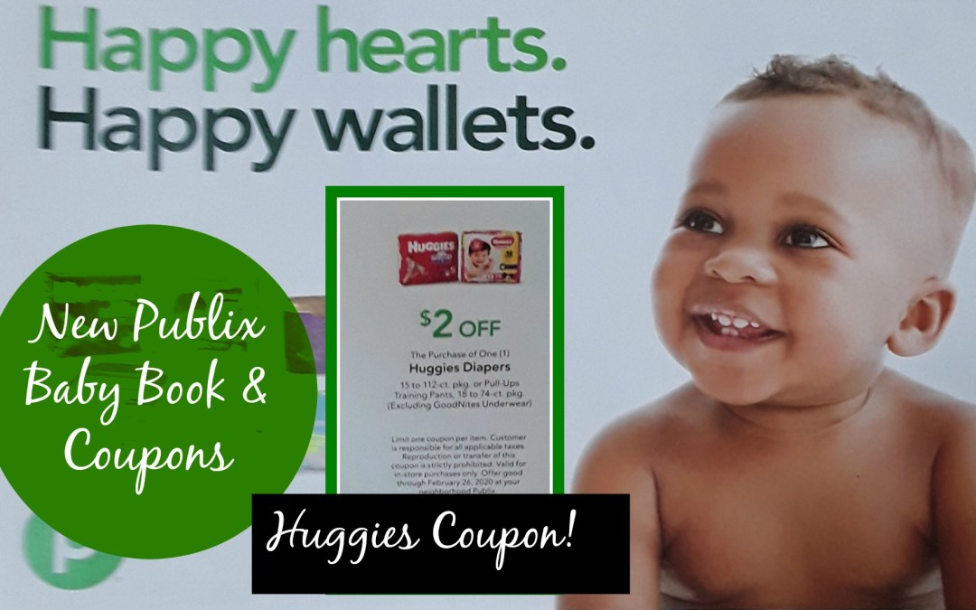 Publix Baby Book & Coupons 1/30 - 2/26/20