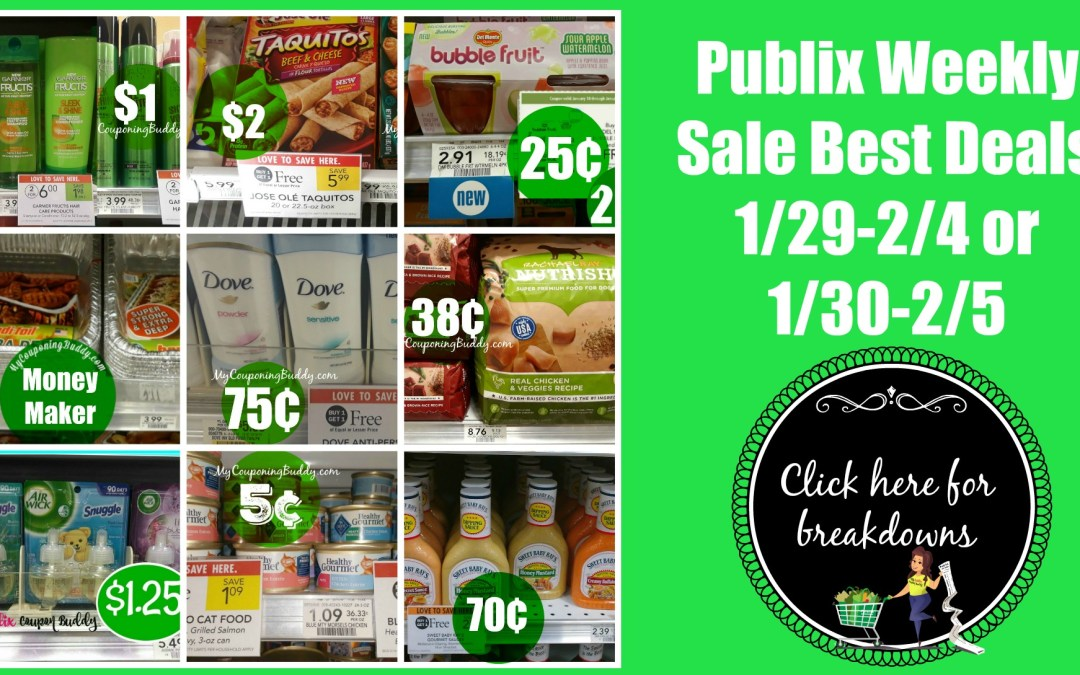 Sneak Peek Publix Weekly Sale 1/29-2/4 or 1/30-2/5