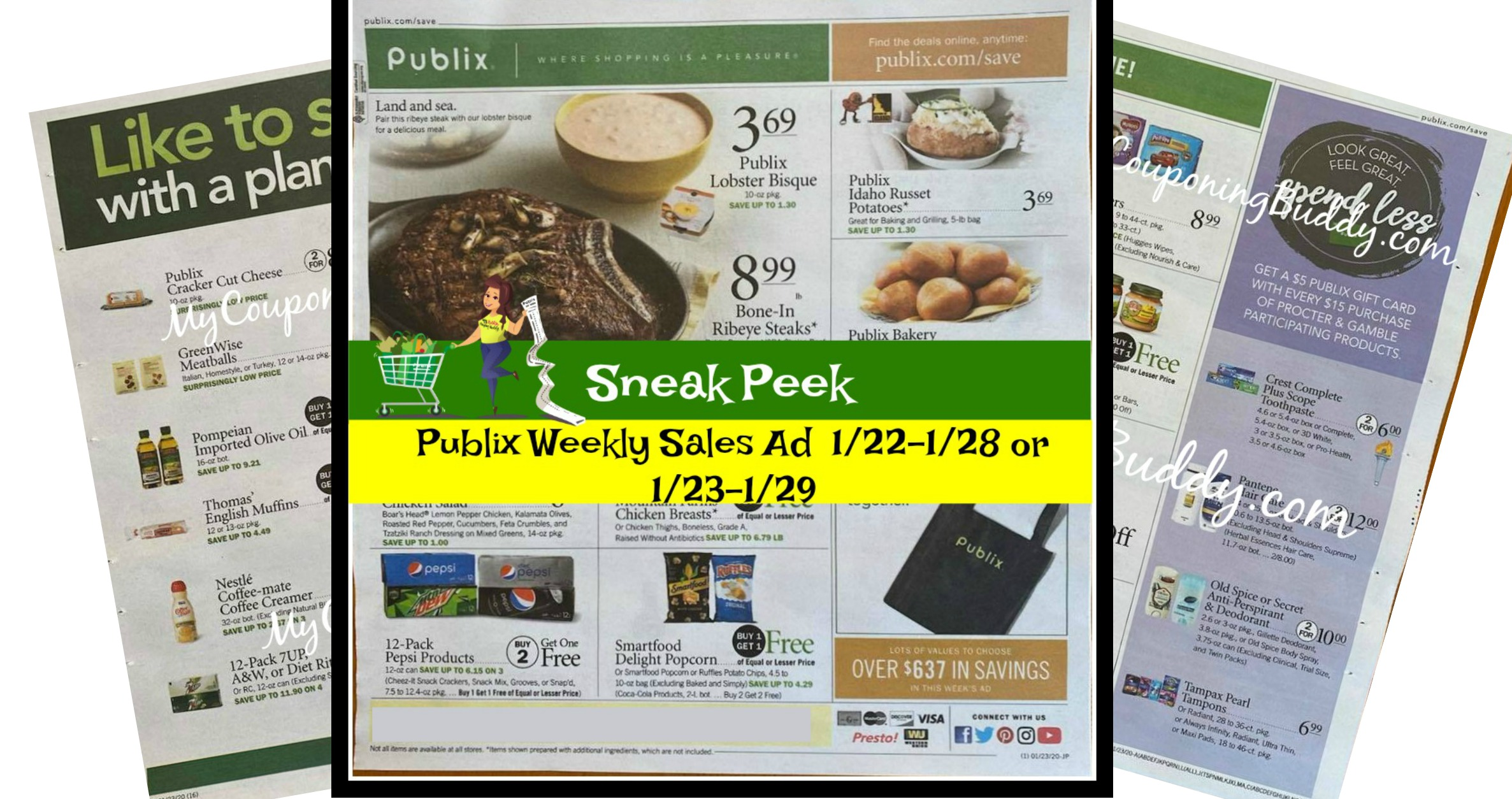 Publix Weekly Ad Preview 1 23 20 1 29 20 Or 1 22 1 28 20