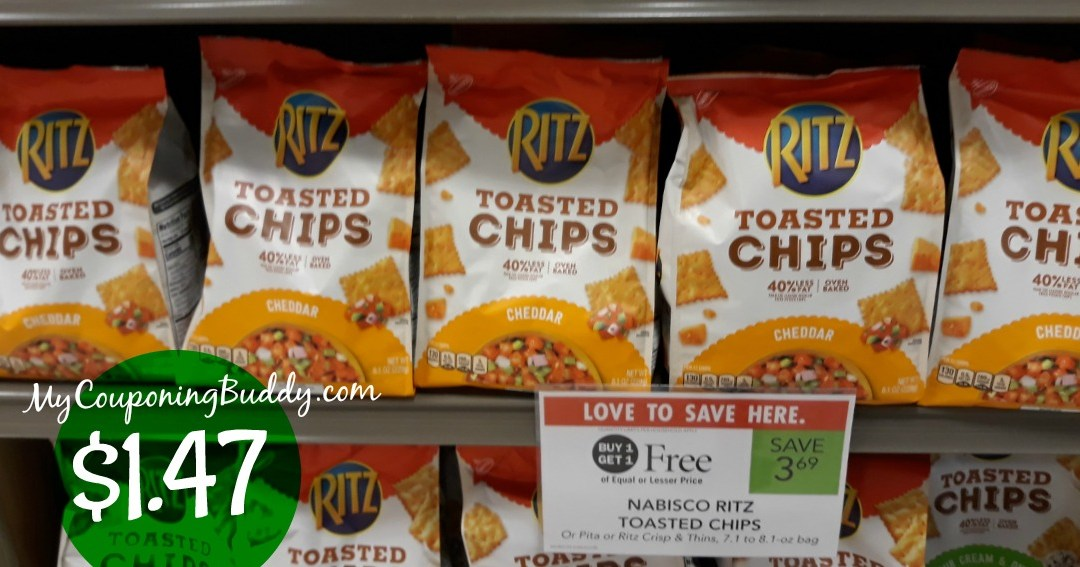 Ritz Toasted Chips Publix