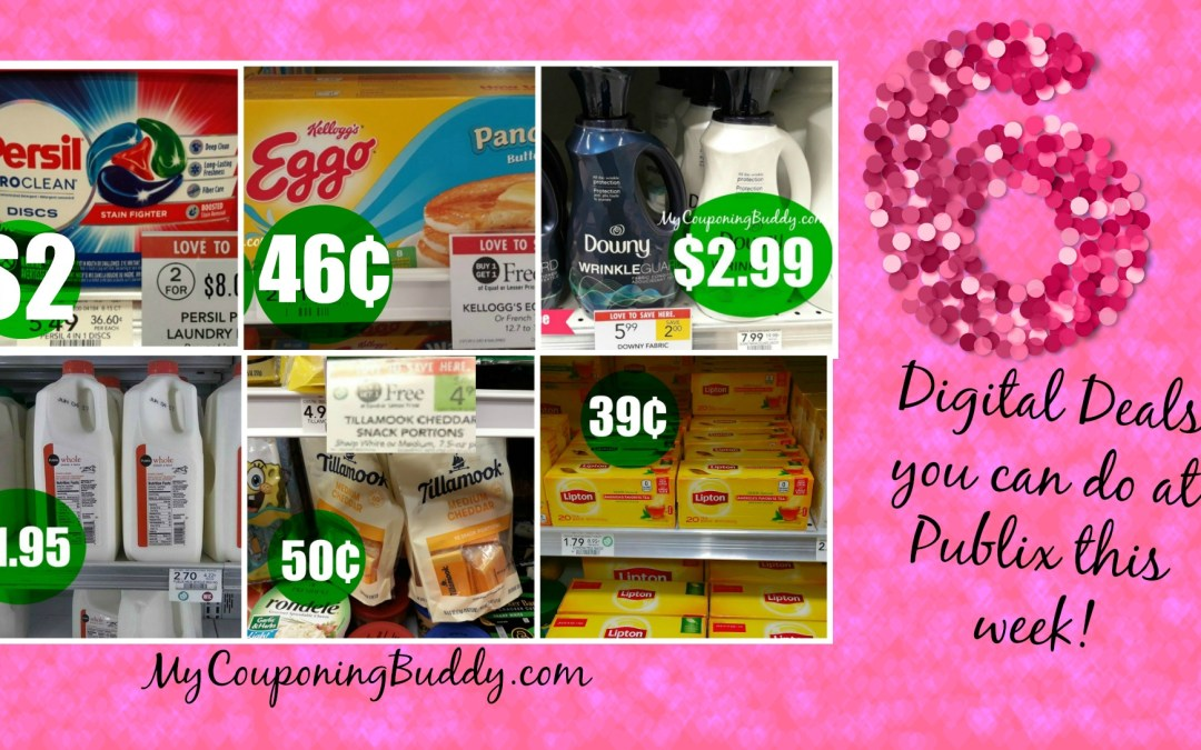 Publix Weekly Ad 2/5-2/11 or 2/6-2/12 6 Digital Deals you can do at Publix this week