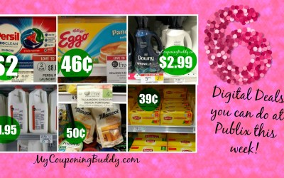 6 Digital Deals you can do at Publix this week