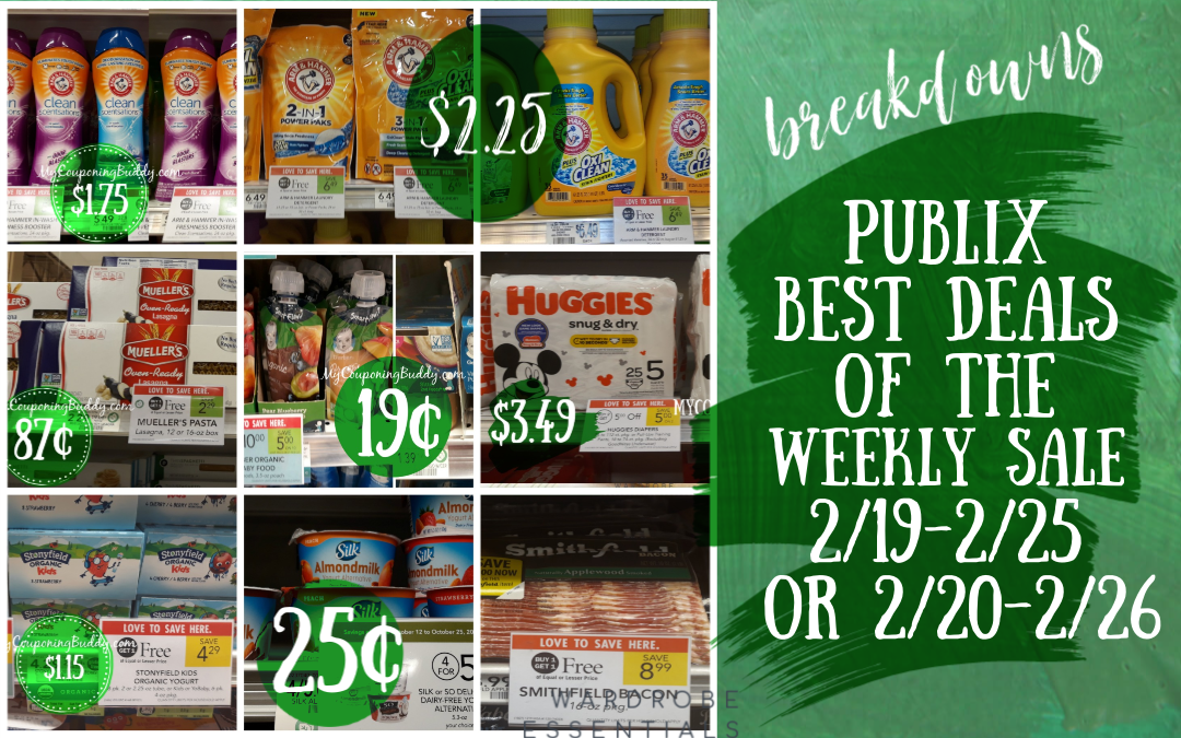 Best Deals Publix Weekly Sale 2/19-2/25 or 2/20-2/26