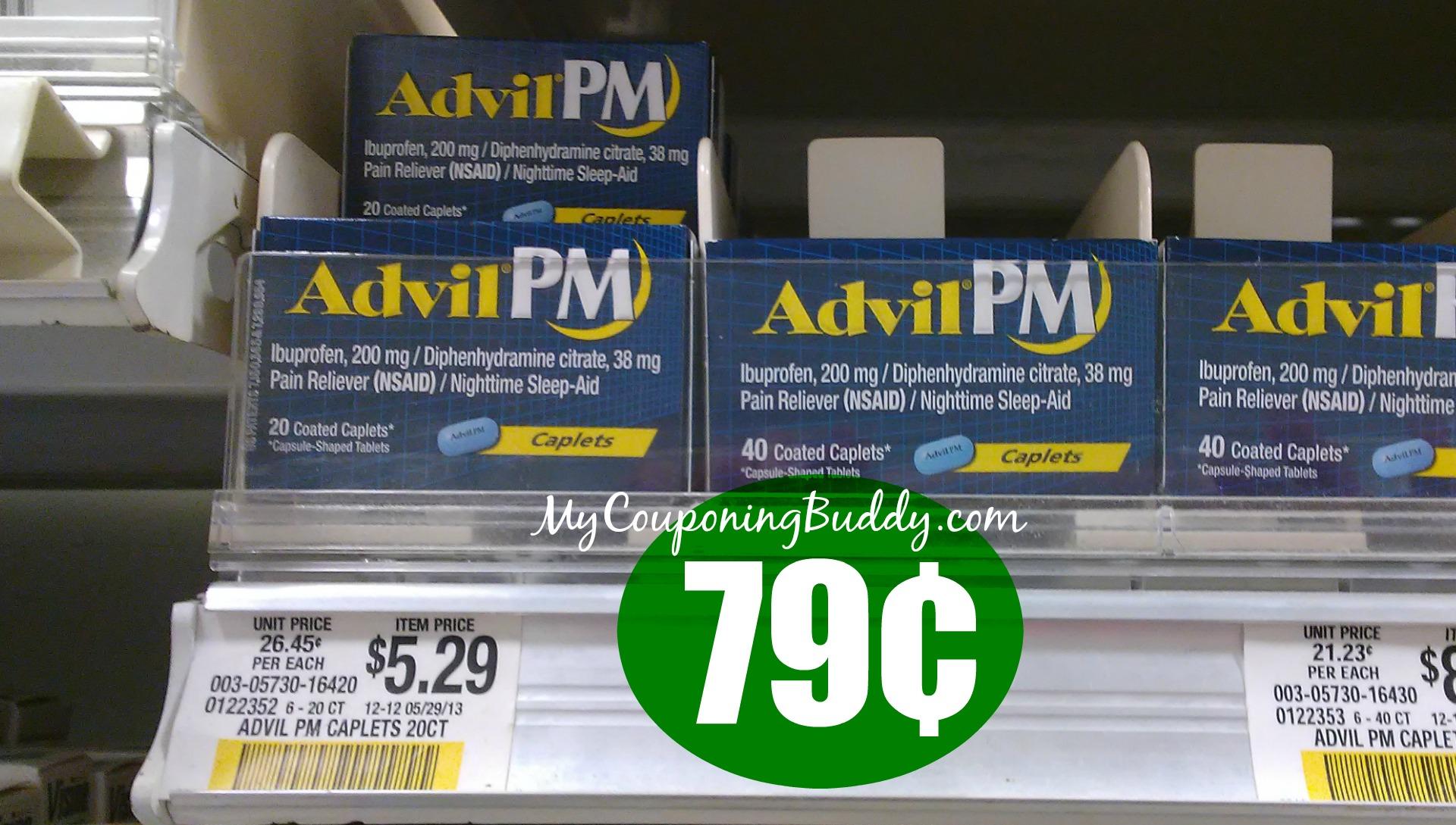 Advil Pm 79 At Publix My Publix Coupon Buddy
