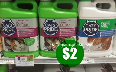 Cat's Pride Cat Litter $2 at Publix!!!