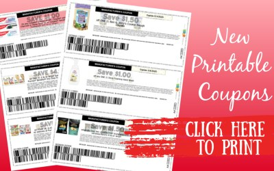 New Printable Coupons ~ Beneful, Colgate, Ben & Jerry's and more
