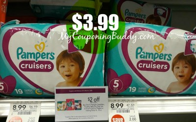 Pampers Diapers $3.99 at Publix