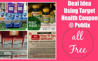 Deal idea using Target Health coupon at Publix