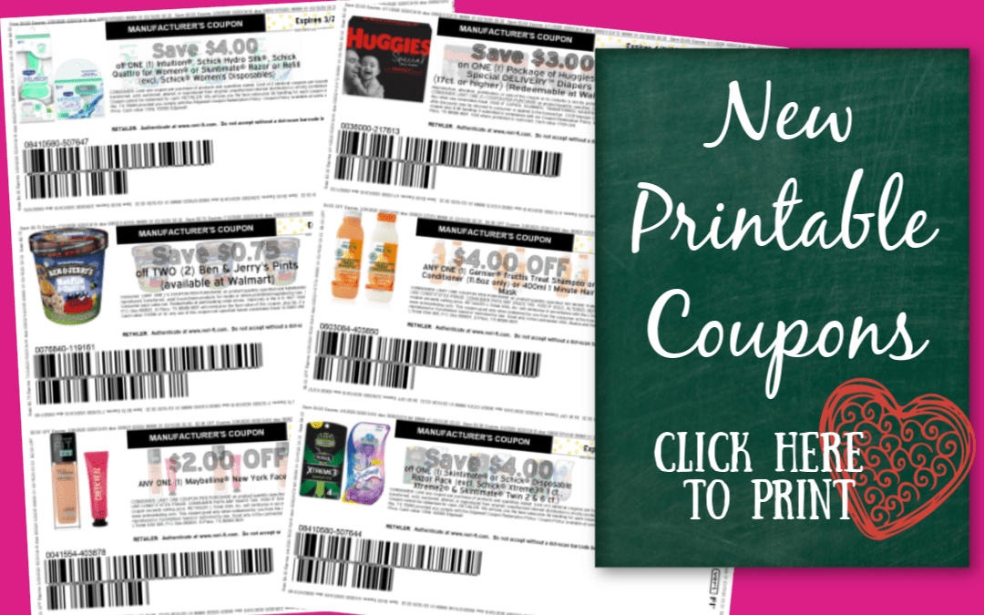 New Printable Coupons Garnier Maybelline Ben Jerry S My Publix Coupon Buddy