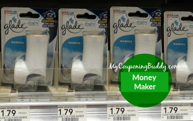 Glade Warmer Money Maker at Publix