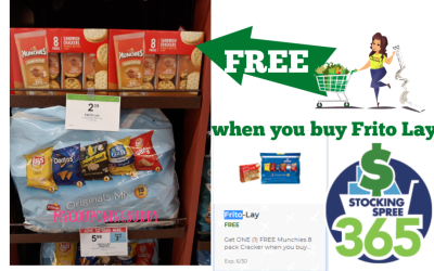 Frito Lay & Munchies Crackers Deal at Publix