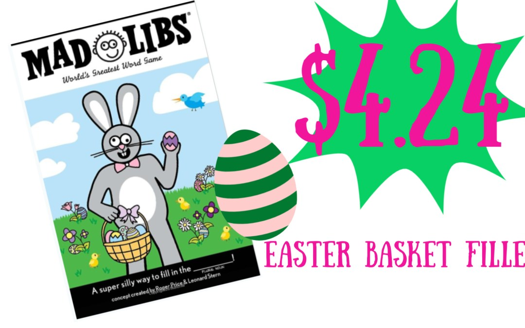 Easter Mad Libs stay safe stay home acitivity