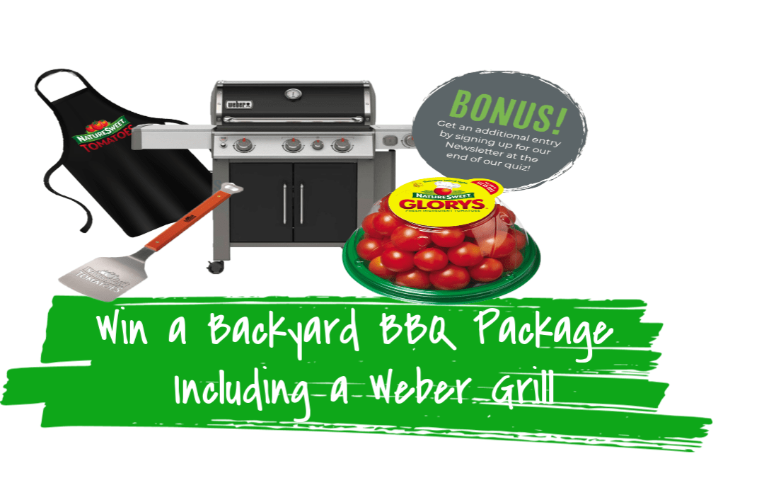 Win a Backyard BBQ Package Including a Weber Grill