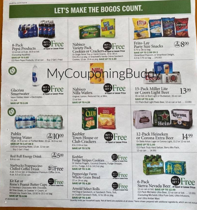 Publix Ad Weekly Sale 6/3/20 - 6/9/20 or 6/4-6/10/20