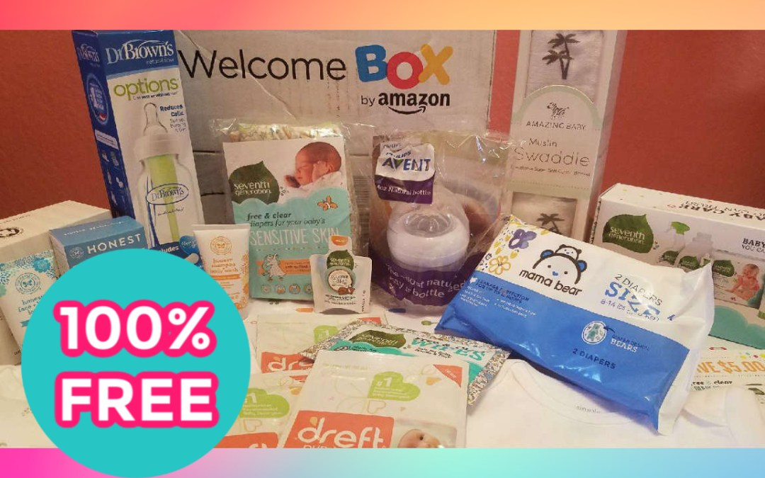 Amazon Baby Welcome Box - Free with Registry Sign Up is BACK