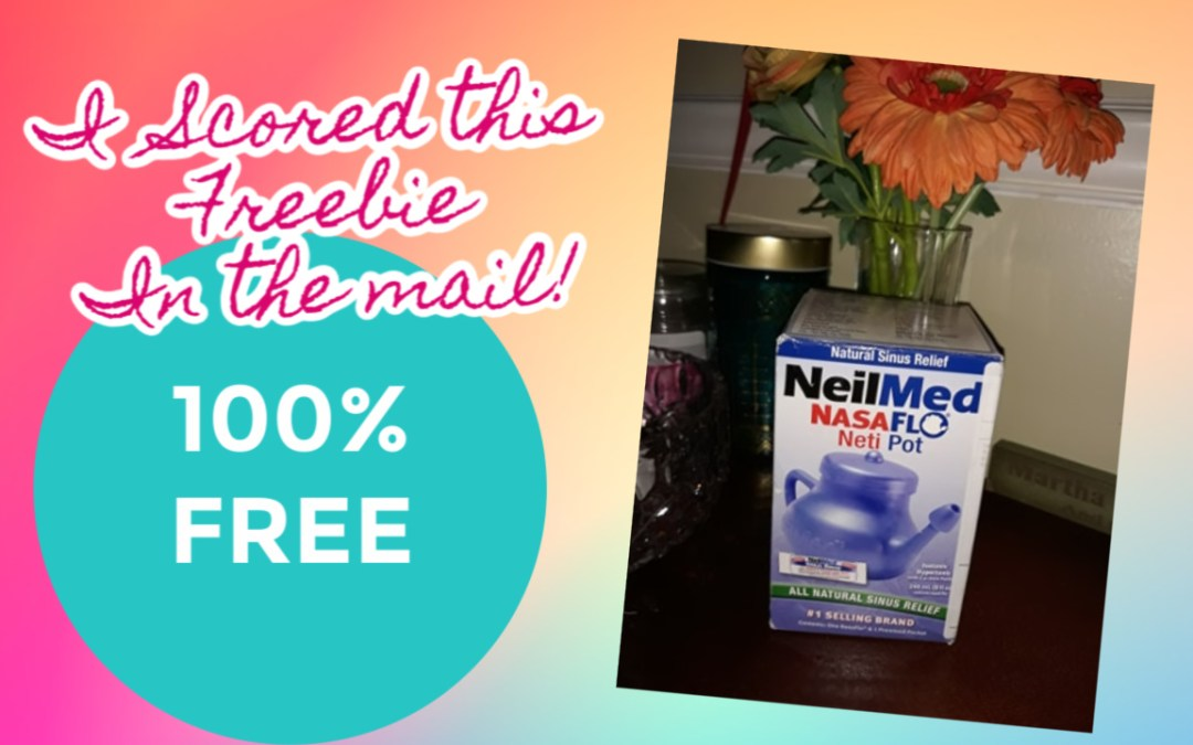 FREE Sinus Rinse Kit or NasaFlo Neti Pot!