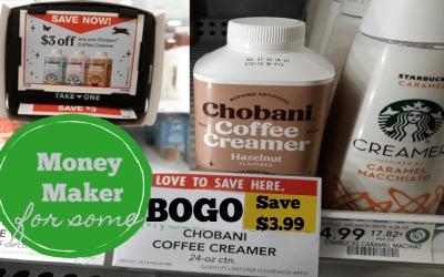 Money Maker on Chobani Creamer