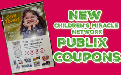 New Publix Children's Miracle Network Coupons