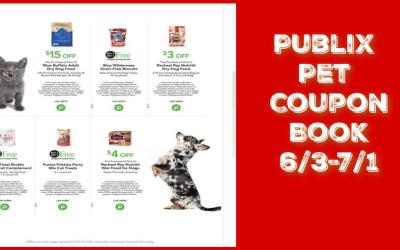 Publix Pet Coupon Book valid 6/3-7/1/20