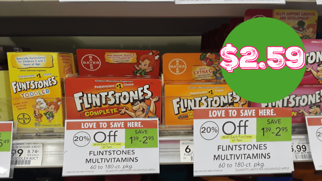 Flintstones Publix Ad Preview 6/10/20 - 6/16/20 (or 6/11-6/17/20 for Some)