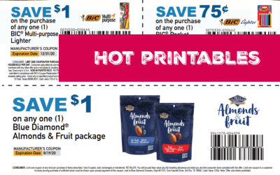 Don't Miss these Super HOT Bic Printable Coupons!
