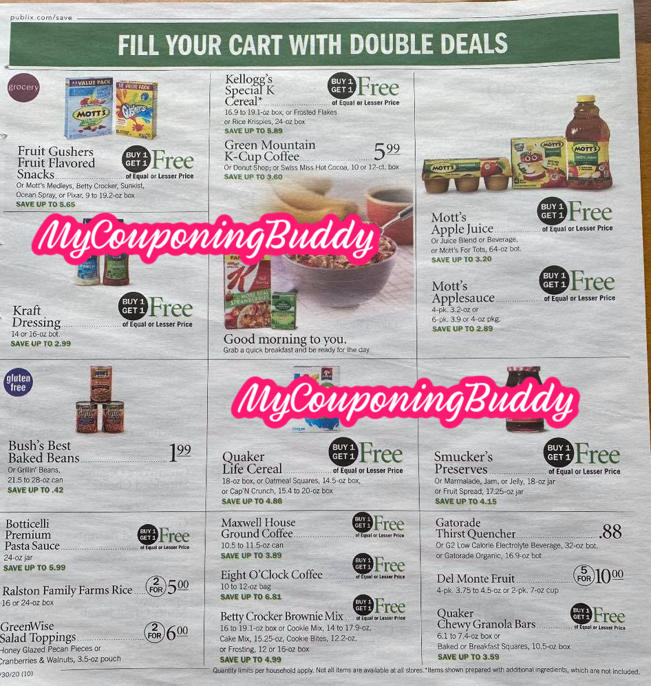 Publix Weekly Sale Early Ad Preview 7 29 8 4 Or 7 30 8 5 My Publix Coupon Buddy