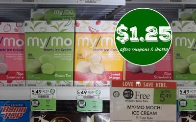My/Mo Mochi Ice Cream $1.25 at Publix