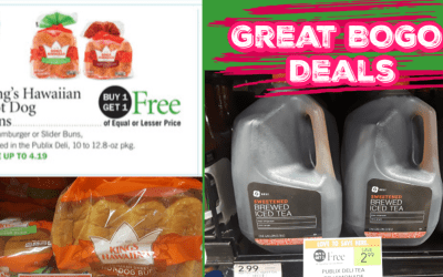 Great BOGO Deals in the Publix Deli Area!