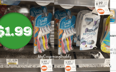 Simply Venus Razors $1.99 at Publix