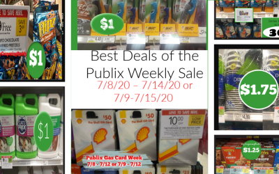 Best Deals of the Publix Weekly Sale  7/8/20 – 7/14/20 (OR 7/9-7/15/20)