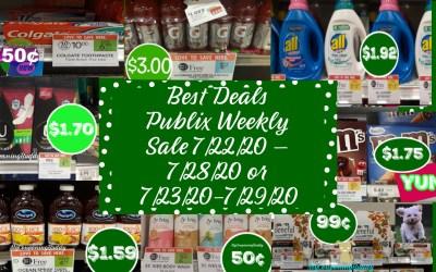 Best Deals Publix Weekly Sale 7/22/20 – 7/28/20 or 7/23/20-7/29/20