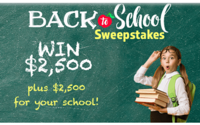 Family Talk Back To School Sweepstakes