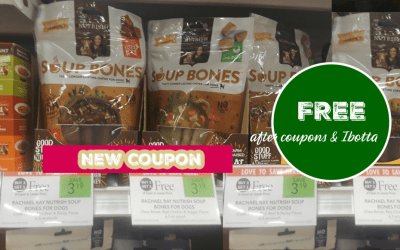 New Coupon: Rachael Ray Soup Bones FREE after coupons & ibotta at Publix
