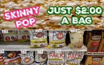 SkinnyPopcorn $2 at Publix!