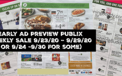 Early Ad Preview Publix Weekly Sale9/23/20 –9/29/20 or 9/24 -9/30 for some)