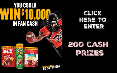 Kellogg's Countdown to Saturday – 200 Cash Prizes!