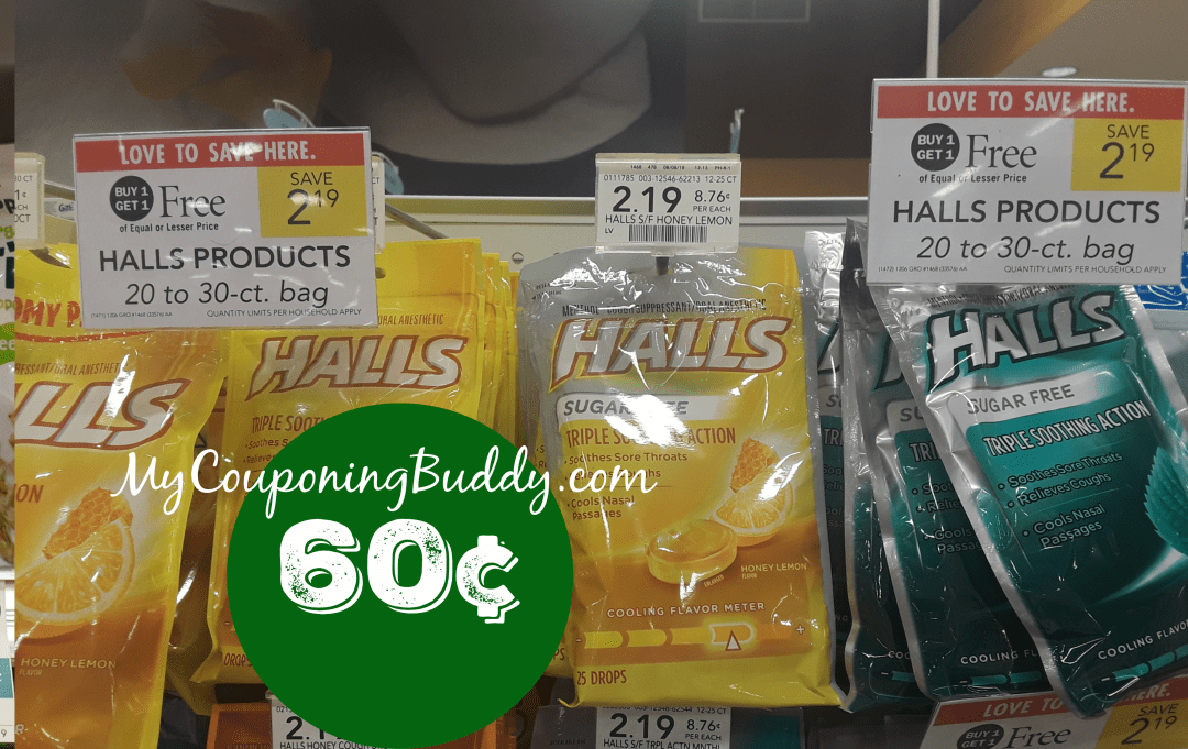 Halls Cough Drops Publix Ad Preview 10/14/20 - 10/20/20 (or 10/15-10/21/20 for Some)
