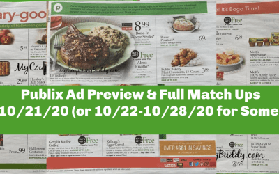 Publix Ad Preview 10/21/20 – 10/27/20 (or 10/22-10/28/20 for Some)