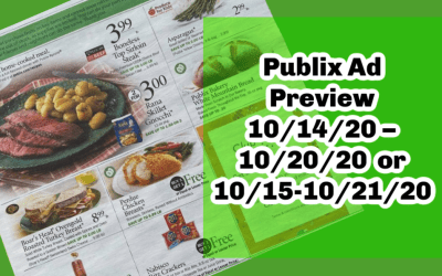 Publix Ad Preview 10/14/20 – 10/20/20 (or 10/15-10/21/20 for some)