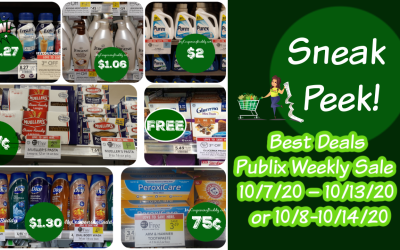 Best Deals of the Publix  Weekly Ad 10/7/20 – 10/13/20 or 10/8-10/14/20