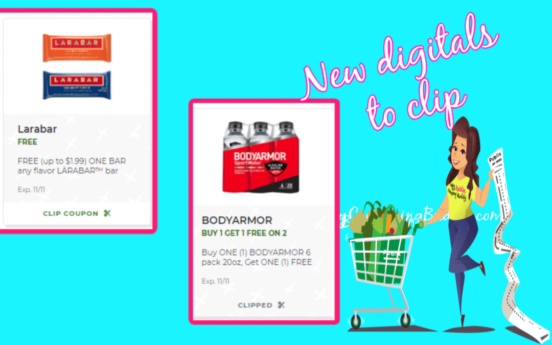 2 Great New Publix Digital Coupons! Clip now!