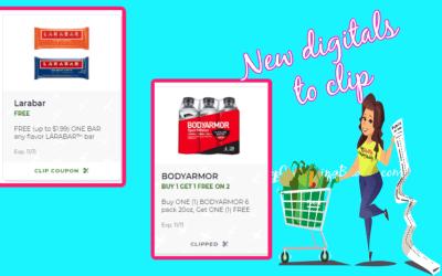 2 Great New Publix Digital Coupons! Clip now!