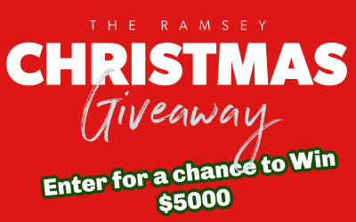 Win $5,000 Cash in the Dave Ramsey Christmas Giveaway